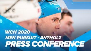 Antholz 2020: Men Pursuit Press Conference