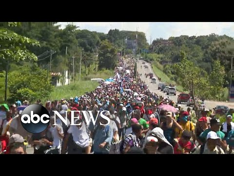 Trump: Migrant caravan traveling toward US 'national emergency'