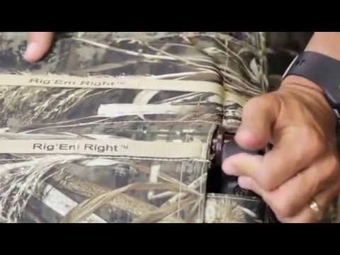 Rig'Em Right Waterfowl Low Rider II Layout Blind - Demo and Information