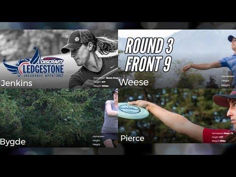2017 Ledgestone Open: Round 3 Leaders, Front 9 (Jenkins, Weese, Bygde, Pierce)