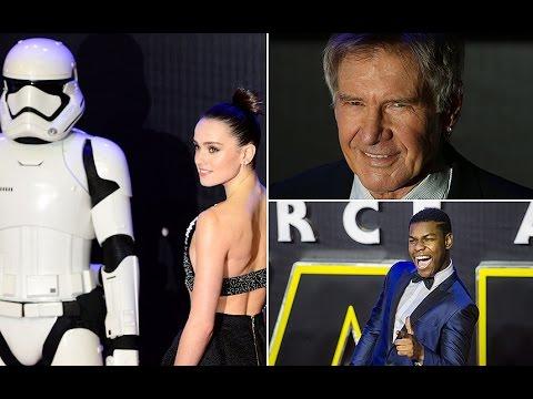 Star Wars UK premiere highlights