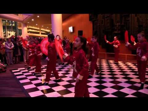 Kentucky Center-Field Elementary Fan Dance