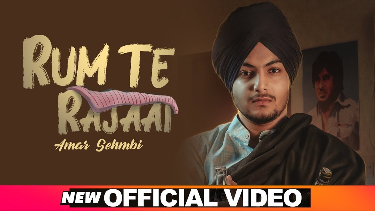 Rum Te Rajaai (Official Video) | Amar Sehmbi | Desi Crew | Latest Punjabi Songs 2019 | Speed Records