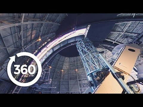 See The Power Of One Of Earth's Largest Telescopes In Virtual Reality! (360 Video)