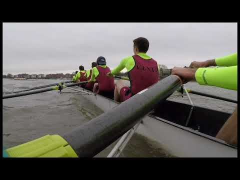 HoRR - HEAD OF THE RIVER RACE 2018 - onboard Vesta intermediate squad