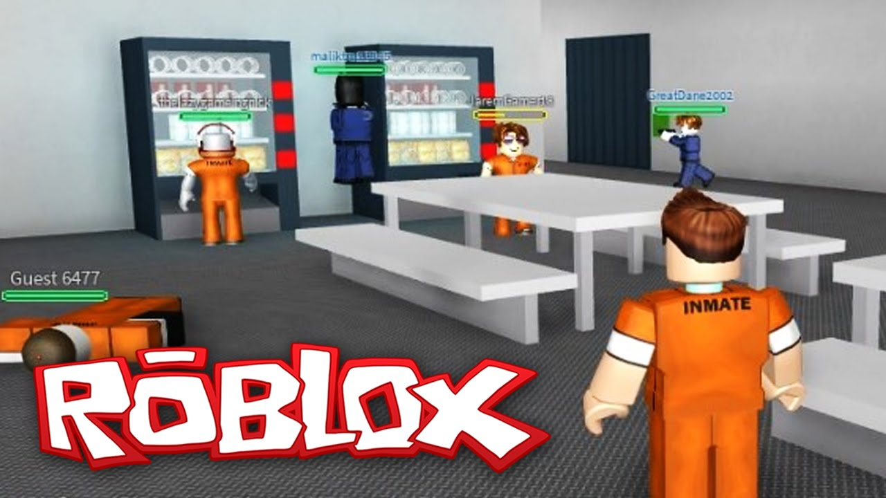 Roblox Adventures Prison Life Prison Escape Youtube