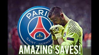 ANTHONY LOPES VS. PSG | 2-0 | AMAZING SAVES! | LYON VS. PSG |