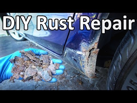 How to Repair Rust on Your Car Without Welding (No Special T