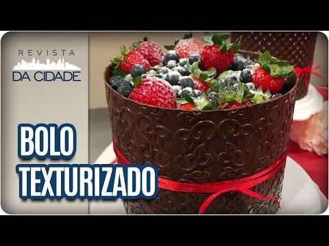 Receita De Bolo Texturizado - Revista Da Cidade (30/01/18)