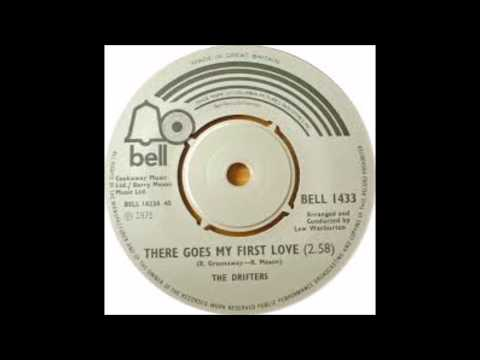 The Drifters - There Goes My First Love - 1975 - 45 RPM