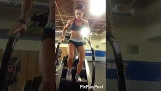 Кардио на лестничном тренажере со спринтами