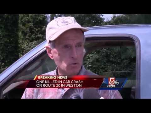 1 dead in Route 20 crash in Weston