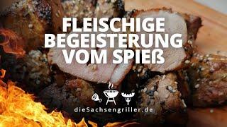 Asiatische Entenbrust Spieße schnell gemacht / how to make duck breast skewers - die sachsengriller