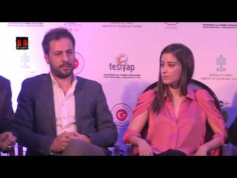 Hazal Kaya (Feriha) & Turkish Delegation At Jio MAMI 18th Mumbai Film Festival