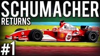 f1 2005 schumacher returns 1 australian gp