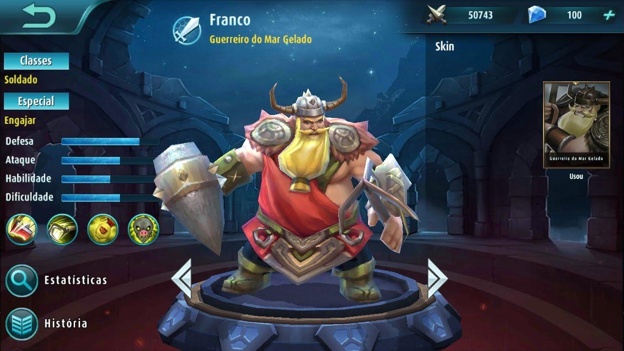 Mobile Legends Wallpaper Mobile Legends Franco Gameplay