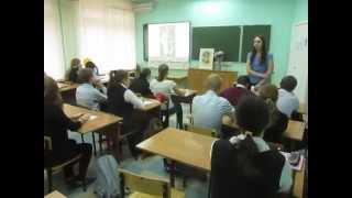 Всероссийский урок чтения в Обнинске, школа № 6, 8 октября 2015 г.