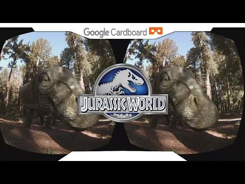 JURASSIC WORLD APATOSAUROS • SBS 1080p • GOOGLE CARDBOARD • Gear VR Gameplay • VIRTUAL REALITY