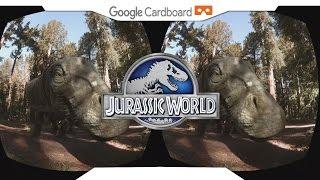 JURASSIC WORLD APATOSAUROS • SBS 1080p • GOOGLE CARDBOARD • Gear VR Gameplay • VIRTUAL REALITY