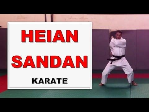 Karate - Heian Sandan : ancrez vos positions !!! [Karate-Blog.net]