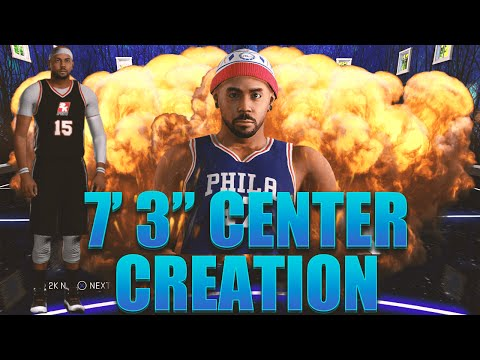 "NBA 2K16 My Career: Center Creation For Pro Am - 7' 3"" Inside Paint Protector Seth Carter"