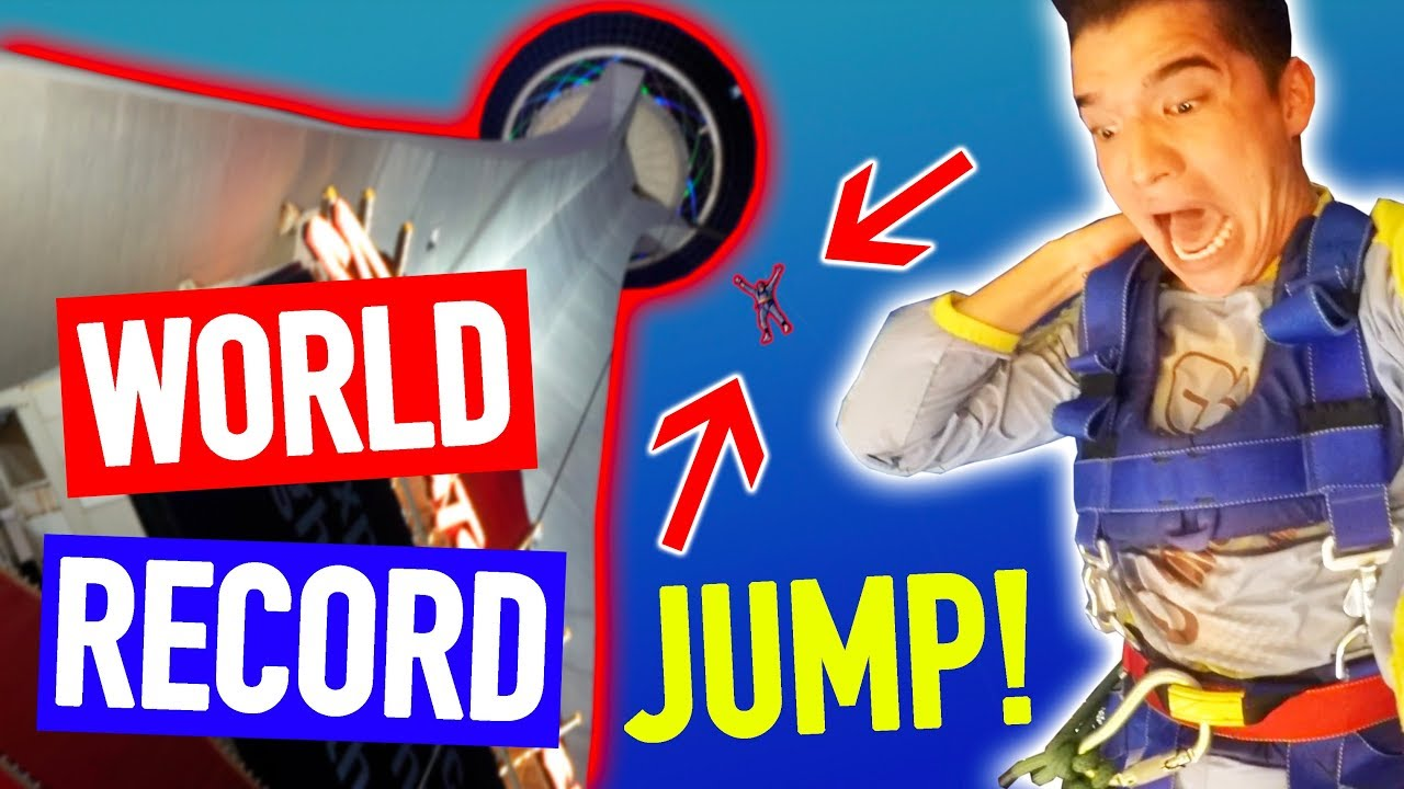 HIGHEST JUMP IN THE WORLD! (Guinness World Record)