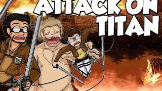 Обзор игры Attack On Titan Tribute Game