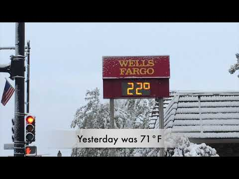 First Significant Snowfall Of 2019-20 Season Coats Steamboat Springs
