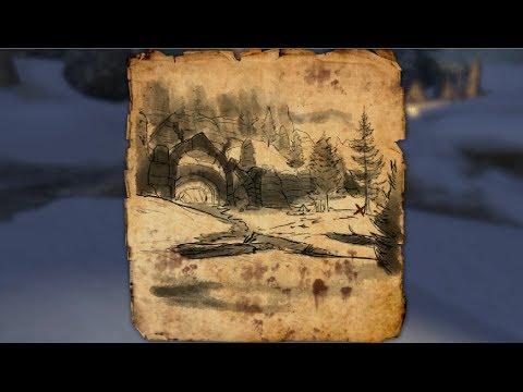eastmarch ce treasure map location elder scrolls online youtube