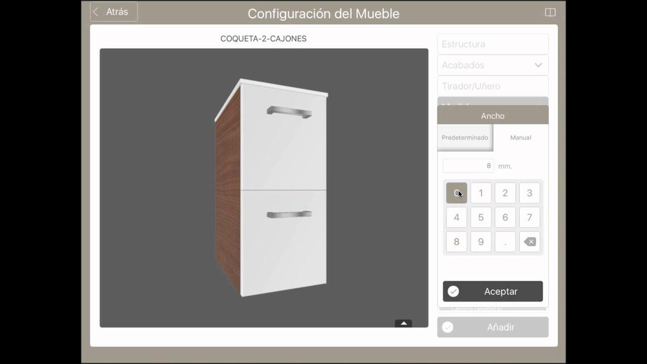 Configurador Kyrya para iPad - YouTube