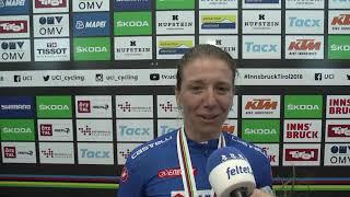 VM 2018: Tatiana Guderzo om bronzemedaljen