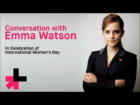 Emma Watson Facebook Q&A about HeForShe - International Women's Day 2015