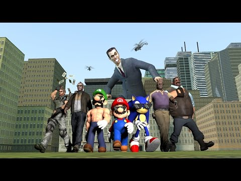Thumbnail: Super Smesh Bros. Gmod 4