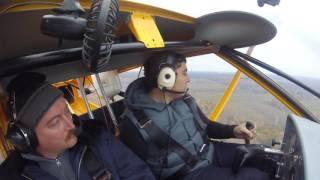 Обучение пилотированию самолета с инструктором