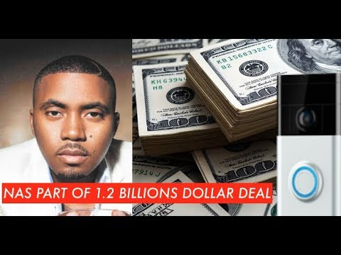 Nas part of a $1.2 BILLION DOLLAR DEAL with His Venture Capital Firm Selling Video Doorbell