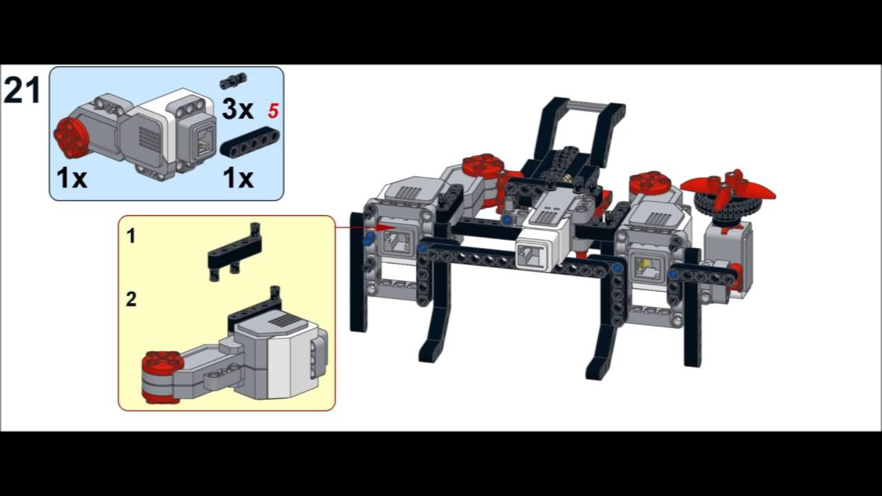 Lego Mindstorms EV3 31313 - EV3 GAME Building Instructions ...