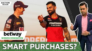 Did KOLKATA & B'LURU shop SMARTLY? | Betway Mission Domination | 2021 Auction REVIEW | Aakash Chopra