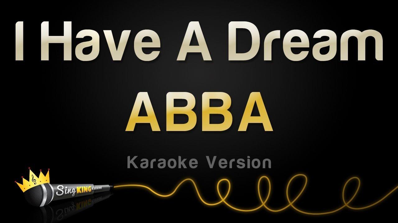 ABBA - I Have A Dream (Karaoke Version)