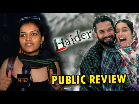 Haider Public Review | Shahid Kapoor, Shraddha Kapoor