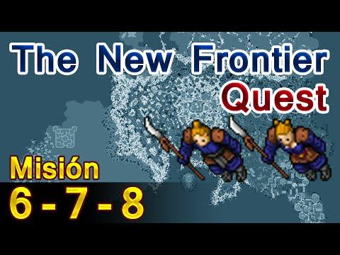 Tibia: Misión 6, 7, 8 - The New Frontier Quest
