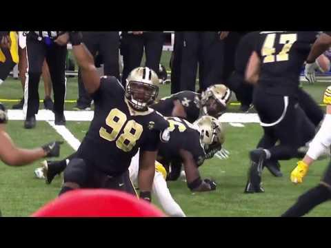 JuJu Smith-Schuster Game Losing Fumble | Steelers vs. Saints | NFL