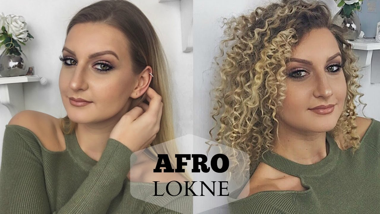 Kako Napraviti Afro Lokne Suela Youtube