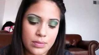 st pattys day makeup