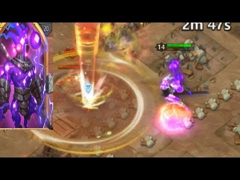 New Ethereal Hero Explained GAMEPLAY Stun All Day Castle Clash