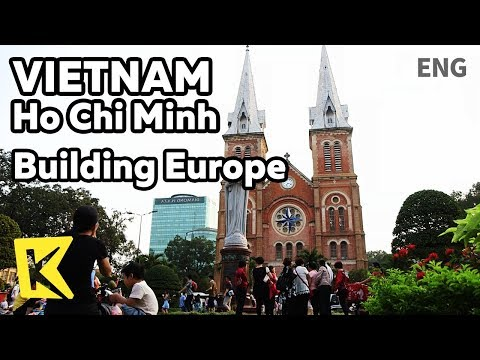 【K】Vietnam Travel-Ho Chi Minh[베트남 여행-호치민]유럽의 향기가 남은 건축물/Saigon Central/Notre Dame/Cathedral