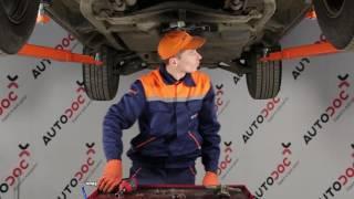 Videoinstruktioner til Undervogn og Bærearme