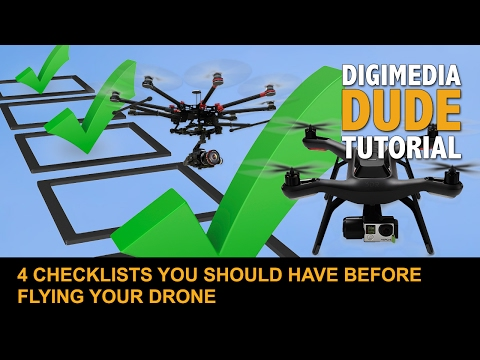 4 Checklists You Should Have Before Flying Your Drone