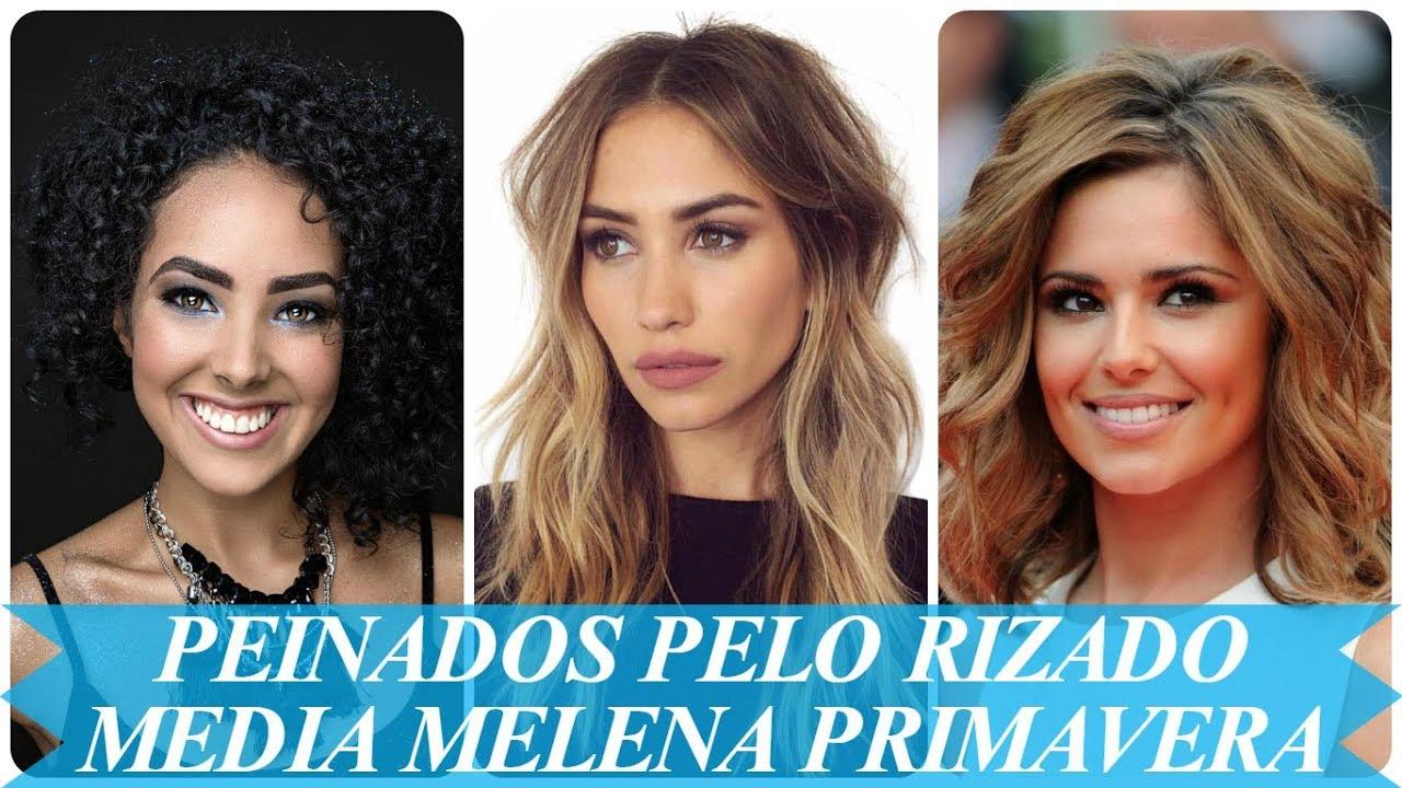 Tendencia Peinados Pelo Rizado Media Melena Primavera 2018