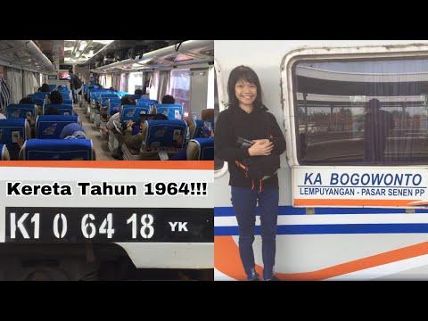 BERDINAS SEJAK TAHUN 1964 - Naik Kereta Api Bogowonto Eksekutif