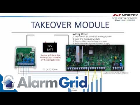 2GIG Takeover Module: Installation - YouTube